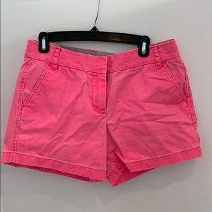 J crew cotton shorts